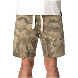 Vêtements Homme Shorts / Bermudas Pull-in Short  Dening Epic Camo Green Camo