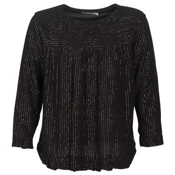 Vêtements Femme Tops / Blouses See U Soon IRAZU Noir / Doré