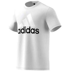 Vêtements Homme T-shirts manches courtes adidas Originals Performance Essentials Linear Tee blanc