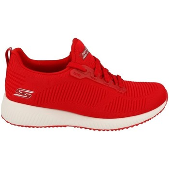 Chaussures Femme Baskets basses Skechers Bobs Squad Rouge