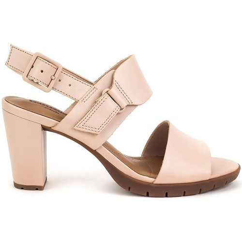 Clarks Kurtley Shine Rose - Chaussures Sandale Femme
