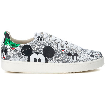 Chaussures Femme Baskets basses Moa - Master Of Arts Basket MoA Micky Mouse en paillettes argent Argent