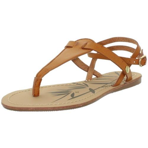 Pepe jeans Sandales  ref_pep43371-879-cognac Marron - Chaussures Sandale