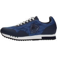Chaussures Homme Baskets basses Blauer 8SDETROIT/KNI Sneakers Homme NAVY NAVY