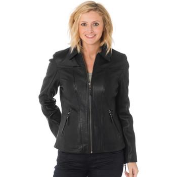 Vêtements Femme Blousons Cityzen VIRGINIA BLACK Noir