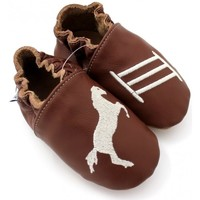 Chaussures Chaussons Kivala Chaussons souples antiderapants Cheval Marron