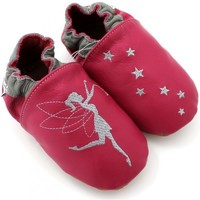 Chaussures Chaussons Kivala Chaussons souples antiderapants Fee rose