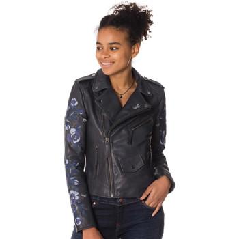 Vêtements Femme Vestes en cuir / synthétiques Cityzen PHOENIX BLUE NIGHT Bleu