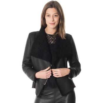 Vêtements Femme Vestes en cuir / synthétiques Cityzen BROOKLYN BLACK Noir