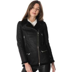 Vêtements Femme Vestes en cuir / synthétiques Cityzen CHICAGO BLACK Noir