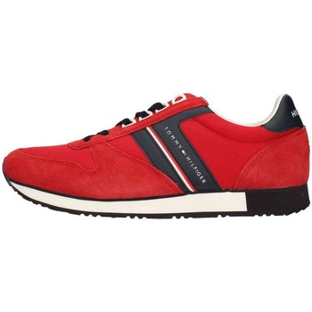 Chaussures Homme Baskets basses Tommy Hilfiger Fm0fm01590/611 Sneakers Homme rouge rouge