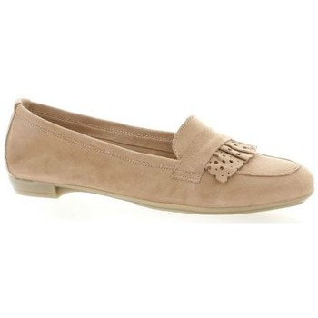 So Send mocassins cuir velours Marine - Chaussures Mocassins Femme