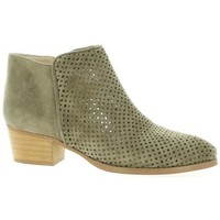 Chaussures Femme Boots So Send Boots cuir velours Taupe