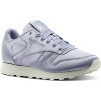 Chaussures Femme Baskets mode Reebok Classic Classic Leather Satin Violet