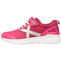 Chaussures Fille Baskets basses Munich Fashion GROUND KID VCO Rose