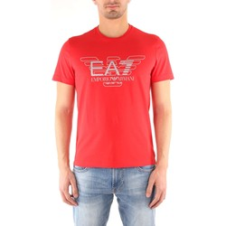 Vêtements Homme T-shirts manches courtes Emporio Armani EA7 3ZPT45 T-shirt Homme RACING RED RACING RED
