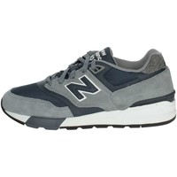 Chaussures Homme Baskets basses New Balance ML597NEB Petite Sneakers Homme Gris Gris