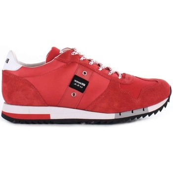 Chaussures Homme Baskets basses Blauer 8SQUINCY01/NYL BASKETS Homme rouge