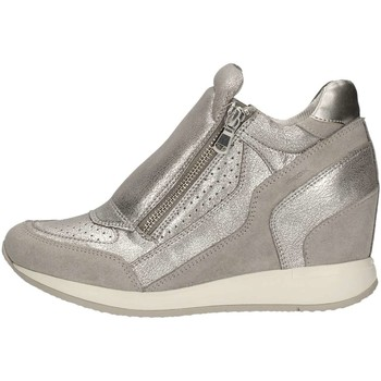 Chaussures Femme Baskets basses Geox D620QA-0CD22 Sneakers Femme Gris Gris