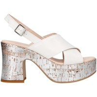 Chaussures Femme Sandales et Nu-pieds Martina B Mbss18-217-mu Sandale Femme blanc blanc