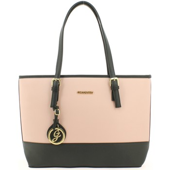 Sacs Femme Cabas / Sacs shopping Gallantry Sac shopping  Rose Noir Rose