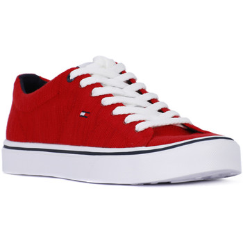 Tommy Hilfiger 611 LIGHTWEIGHT KNIT Rosso - Chaussures Basket Homme