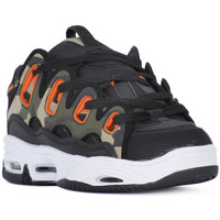 Chaussures Homme Multisport Osiris D3 BLACK ORANGE CAMO Nero