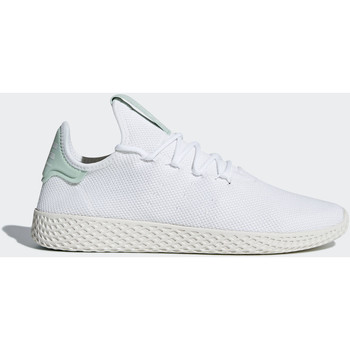 Chaussures Femme Baskets mode adidas Originals Chaussure Pharrell Williams Tennis Hu Blanc / Blanc / Blanc