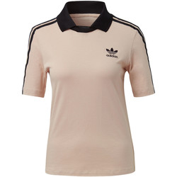 Vêtements Femme T-shirts manches courtes adidas Originals T-shirt Fashion League Polo pink