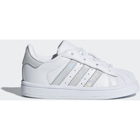 Chaussures Enfant Baskets mode adidas Originals Chaussure Superstar Blanc / Blanc / Blanc