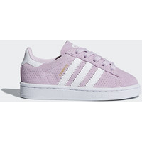 Chaussures Fille Baskets mode adidas Originals Chaussure Campus Blanc / Blanc