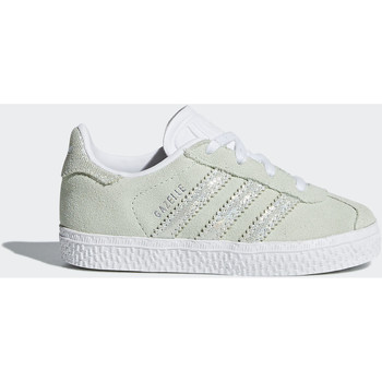 Chaussures Fille Baskets mode adidas Originals Chaussure Gazelle Turquoise / Turquoise / Blanc