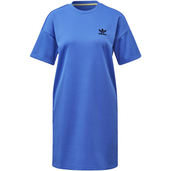 Vêtements Femme Robes adidas Originals Robe Fashion League Rib Tee blue