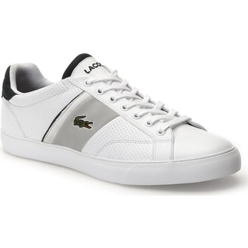 Chaussures Homme Baskets mode Lacoste FAIRLEAD 118 1 1R5 Blanc