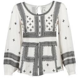 Vêtements Femme Tops / Blouses Stella Forest ANTONETA Ecru / Noir