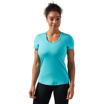 Vêtements Femme T-shirts manches courtes Reebok Sport Wor SW Tee Turquoise