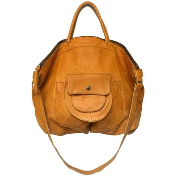 Sacs Femme Sacs porté main Aridza Bross Sac en cuir April Moutarde