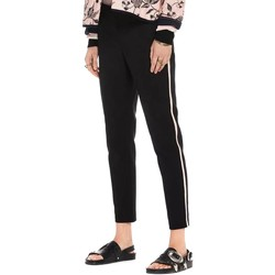 Vêtements Femme Pantalons Maison Scotch TAILORED STRETCH PANTS WITH KNITTED Noir