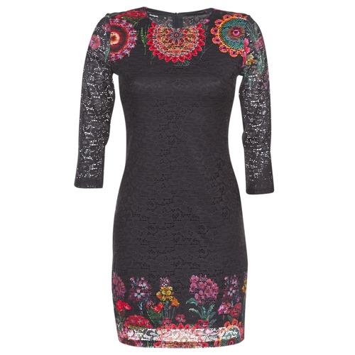 Vêtements Femme Robes courtes Desigual DARINA Noir