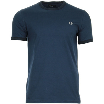 Vêtements Homme T-shirts manches courtes Fred Perry Ringer T-Shirt
