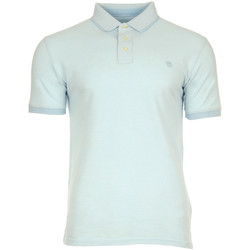 Vêtements Polos manches courtes Timberland Millers River Oxford Polo bleu