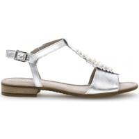 Chaussures Femme Sandales et Nu-pieds Gabor Sandales bleu foncé Gris