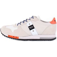 Chaussures Homme Baskets basses Blauer 8SQUINCY01/NYL BASKETS Homme blanc