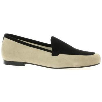 Chaussures Femme Mocassins Elizabeth Stuart Mocassins cuir velours  /sable Noir/sable