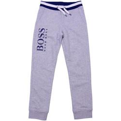 Vêtements Garçon Pantalons de survêtement HUGO Pantalon de survêtement Hugo Boss Cadet - Ref. J24543-A89 Gris