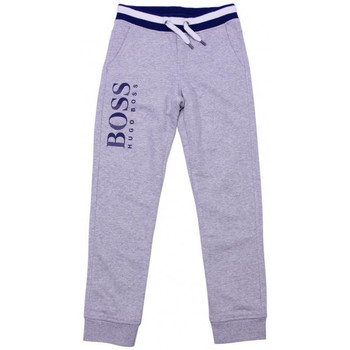 Vêtements Garçon Pantalons de survêtement Hugo Boss Junior Junior Pantalon de survêtement Hugo Boss Cadet - Ref. J24543-A89 Gris