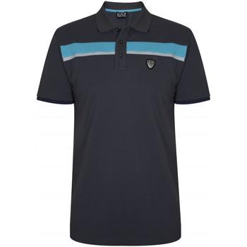 Vêtements Homme T-shirts & Polos Emporio Armani EA7 Polo  - Ref. 3ZPF79-PJ61Z-1994 Gris