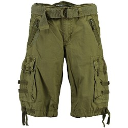 Vêtements Homme Shorts / Bermudas Geographical Norway Bermuda Homme Paparazzi Mastic