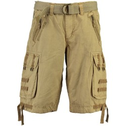 Vêtements Homme Shorts / Bermudas Geographical Norway Bermuda Homme Paparazzi Beige