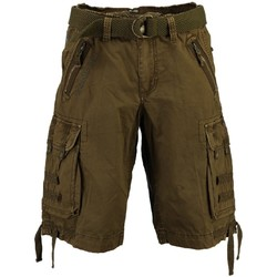Vêtements Homme Shorts / Bermudas Geographical Norway Bermuda Homme Paparazzi Kaki